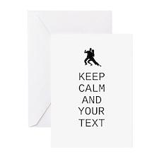 Keep Calm Dance Couple - Customize Greeting Cards