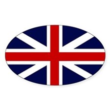 Unique British flags Decal