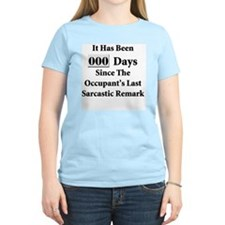 Sarcasm Safety T-Shirt