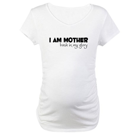 I am Mom - Glory Maternity T-Shirt
