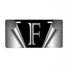Steel Peel F Aluminum License Plate