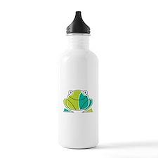 Artsy Frog Water Bottle