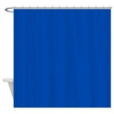 Cloth Shower Curtain Liner Blue Cream Shower Curtain