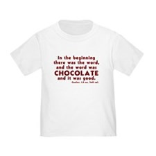 Chocolate Word T