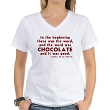 Chocolate Word Shirt