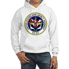 Personalized Uss John F. Kennedy Hoodie Sweatshirt