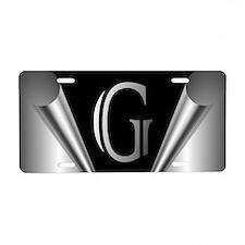 Steel Peel G Aluminum License Plate
