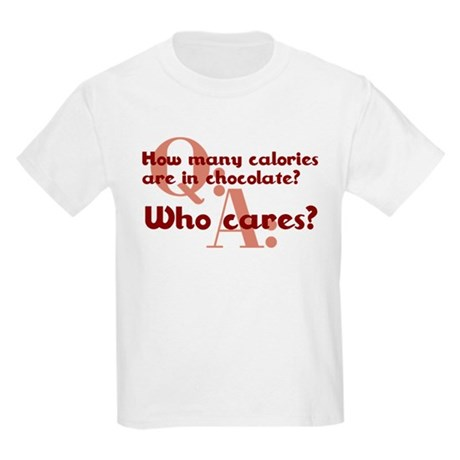 Calories In Chocolate Kids Light T-Shirt