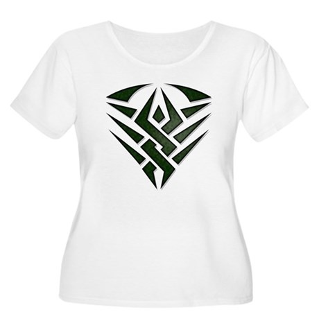 Tribal Badge Women's Plus Size Scoop Neck T-Shirt
