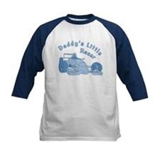 Daddy's Little Racer In Blue Tee