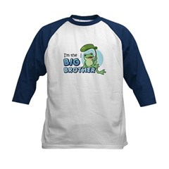 Big Brother Frog Kids Baseball Jersey