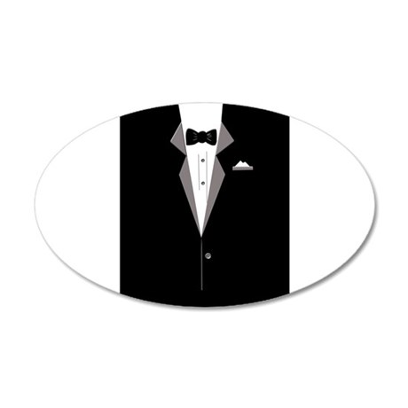 Tuxedo Art Wall Decal