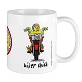 Biker Chick Coffee Mug