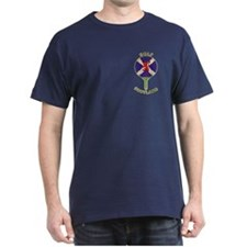 Saltire Golf Scotland Green Tartan T-Shirt