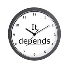 Cute Human resources Wall Clock