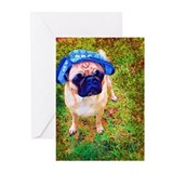 Cute Puglife Greeting Cards (Pk of 10)