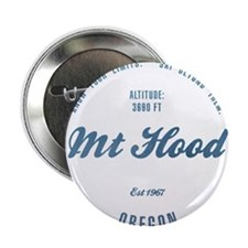 "Mt Hood Ski Resort Oregon 2.25"" Button"