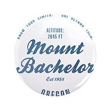 "Mount Bachelor Ski Resort Oregon 3.5"" Button"