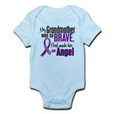 Cute Pancreatic cancer grandma Infant Bodysuit