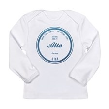Alta Ski Resort Utah Long Sleeve T-Shirt