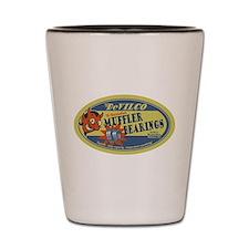 DeVilco Muffler Bearings Shot Glass