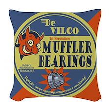 DeVilco Muffler Bearings Woven Throw Pillow