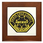 Santa Cruz Sheriff Framed Tile