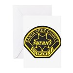 Santa Cruz Sheriff Greeting Cards (Pk of 10)