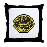 Santa Cruz Sheriff Throw Pillow