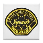 Santa Cruz Sheriff Tile Coaster