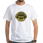 Santa Cruz Sheriff White T-Shirt