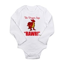 Unique Wow baby Long Sleeve Infant Bodysuit