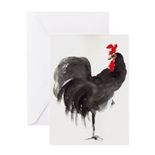 The Year Of The Rooster Greeting Cards