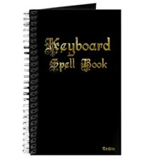 Keyboard Spell Book [Notebook]