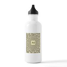 Monogram M Water Bottle