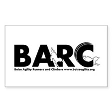Barc Logo Black And White Decal