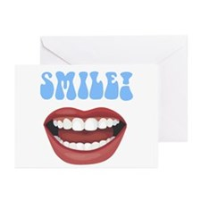 Healthy Smile Dentist Office Greeting Cards (Packa