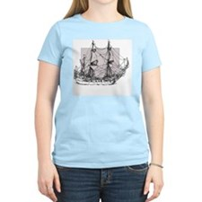 Antique tall ship T-Shirt