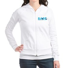 BARC Logo in Blue Fitted Hoodie