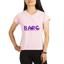 BARC Logo in Purple Performance Dry T-Shirt