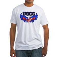 USCG Heart Flag Shirt