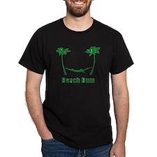 Beach Bum Green T-Shirt