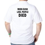 Anti George W. Bush T-Shirt