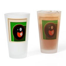 Unique 8ball Drinking Glass