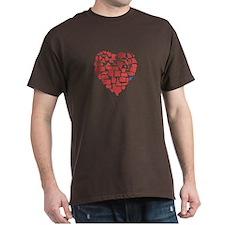 West Virginia Heart T-Shirt