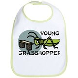 Young Grasshopper Bib