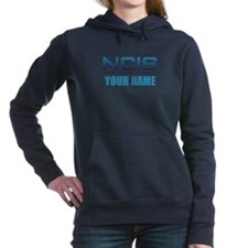 Customized NCIS TV Logo Women's Hooded Sweatshirt