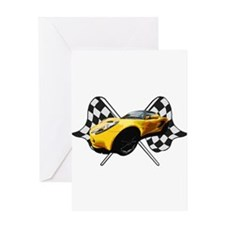 Unique Lotus cars Greeting Card