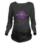 Round Here Long Sleeve Maternity T-Shirt