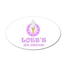 Loeb's Ice Cream Wall Decal